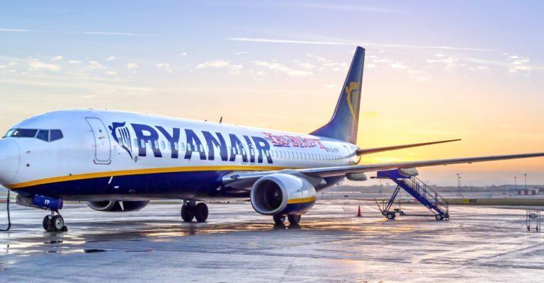 Ryanair piloten gaan staken in zomervakantie