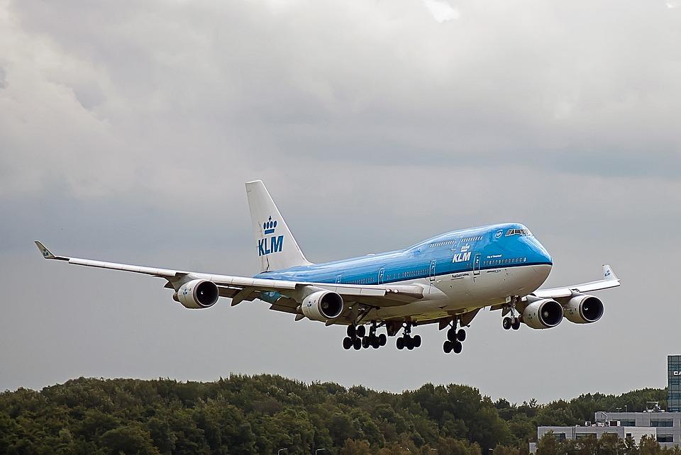 KLM vlucht geannuleerd