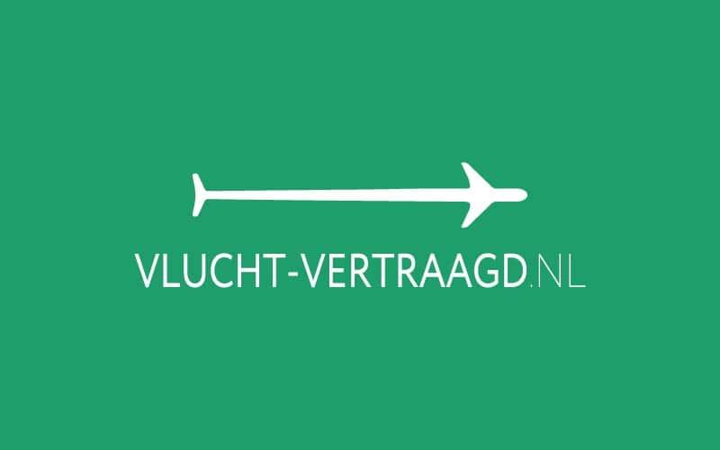 Vlucht vertraagd logo