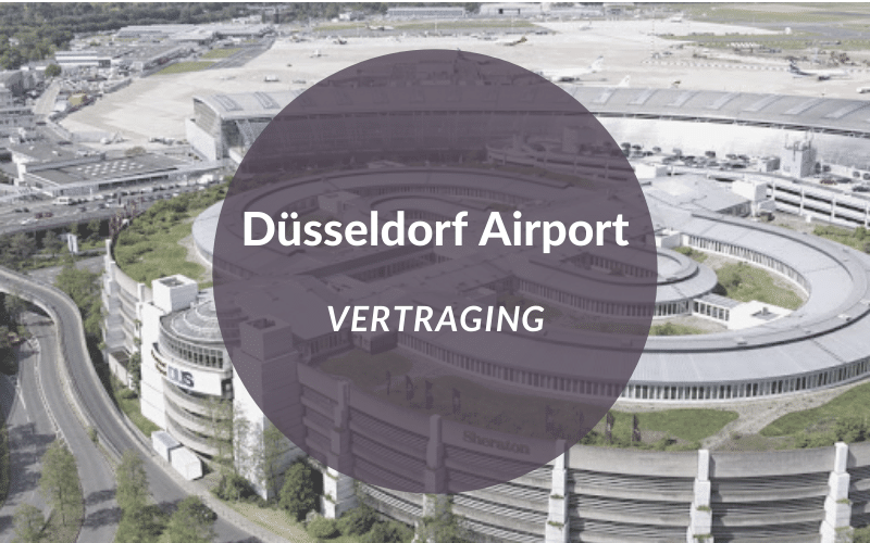 Düsseldorf airport vertraging